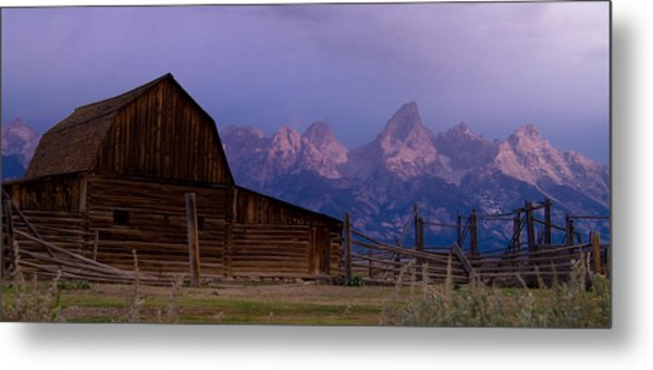 Mormon Village Metal Print