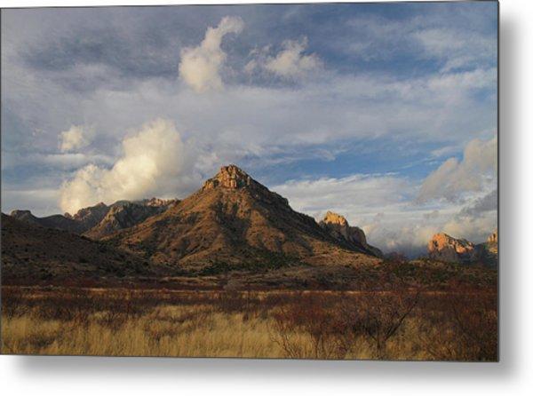 Morning At Arizona's Chiricahua Mountains Metal Print
