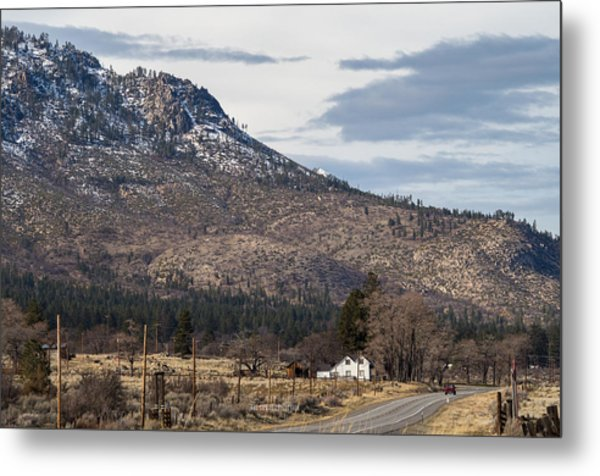 Morning At The Doyle Ranch Metal Print
