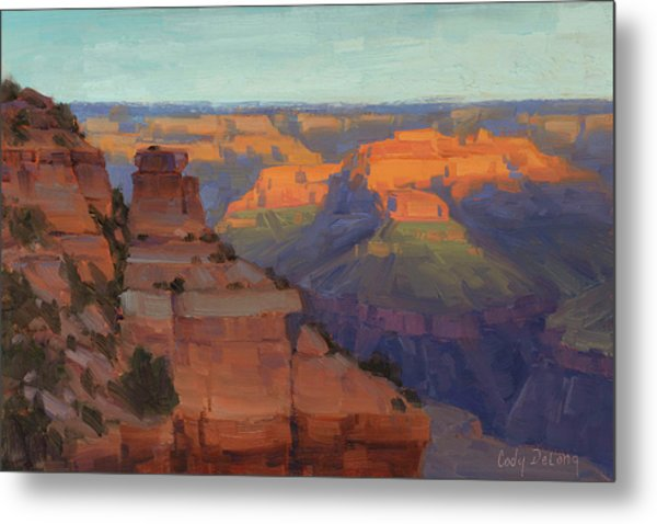 Morning Color - Yaki Point Metal Print