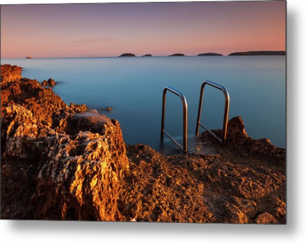 Metal Print featuring the photograph Morning Colors by Davor Zerjav