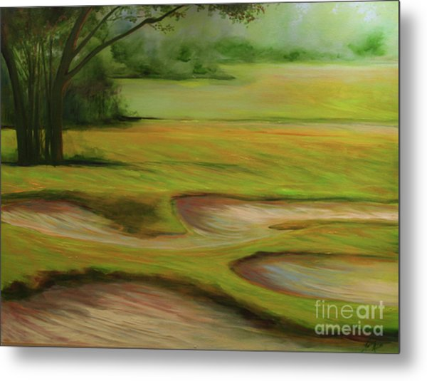 Morning Fairway Metal Print by Michele Hollister - for Nancy Asbell