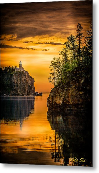 Morning Glow Against The Light Metal Print