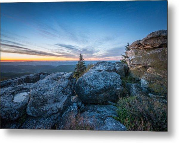 Monongahela National Forest Wilderness Morning Light Metal Print