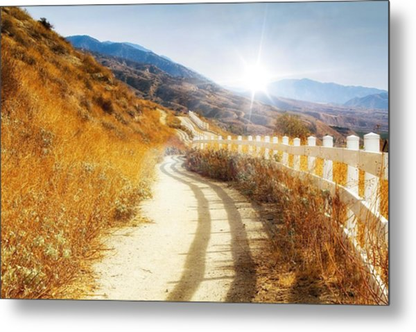 Metal Print featuring the photograph Morning Hike by Alison Frank