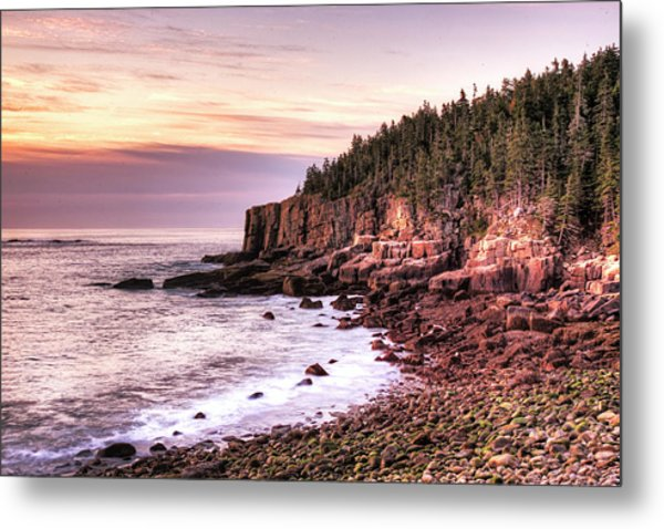 Morning In Acadia Metal Print