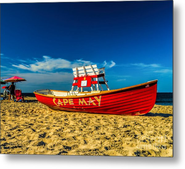 Morning In Cape May Metal Print