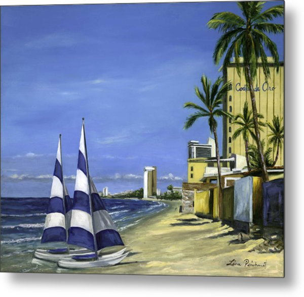 Morning In Mazatlan Metal Print