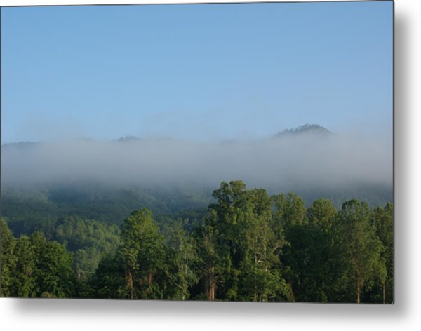 Morning In The Hills Of Tennessee Metal Print by Terry Hoss