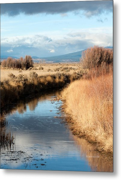 Morning In The Valley Metal Print