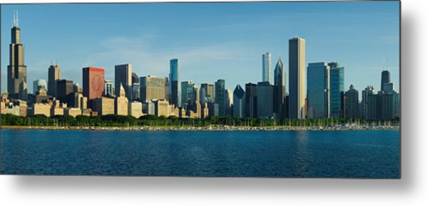 Morning Lakefront Metal Print by Donald Schwartz