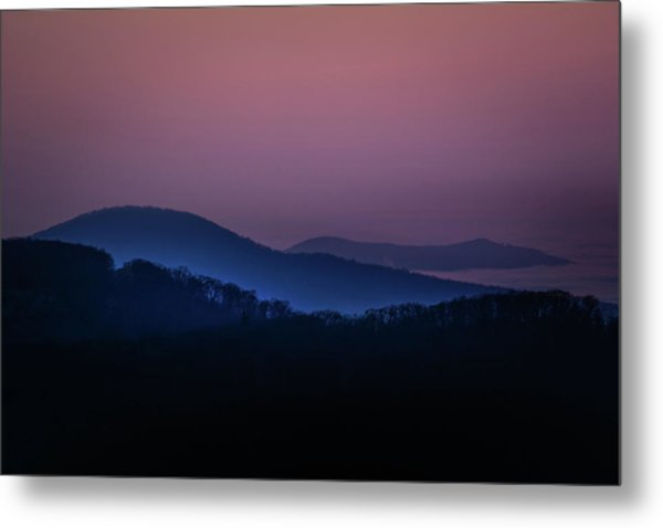 Morning Light In Shenandoah  Metal Print