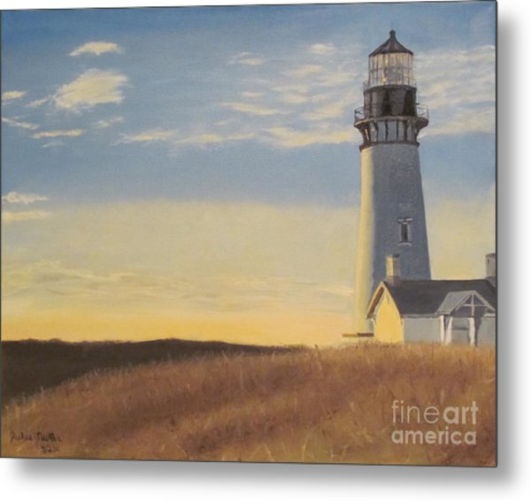Morning Light Metal Print by Jackie Nutter