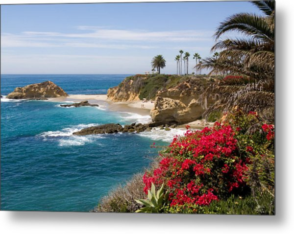 Morning Light Montage Resort Laguna Beach Metal Print