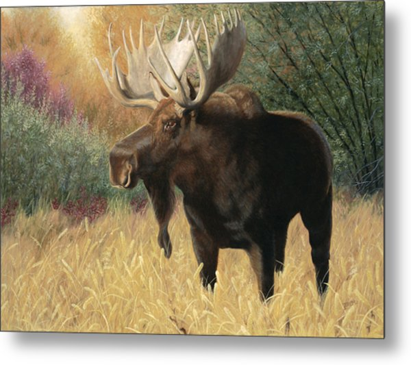 Morning Majesty Metal Print
