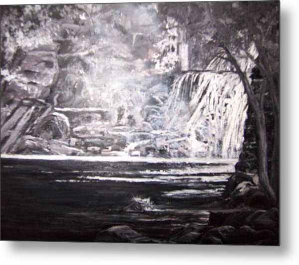 Morning Mist -theresa Falls Metal Print