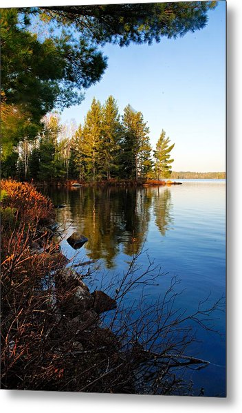 Morning On Chad Lake 4 Metal Print