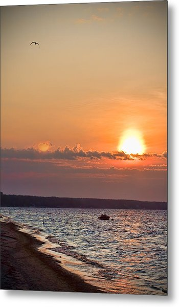 Morning On Earth Metal Print by Michel Filion