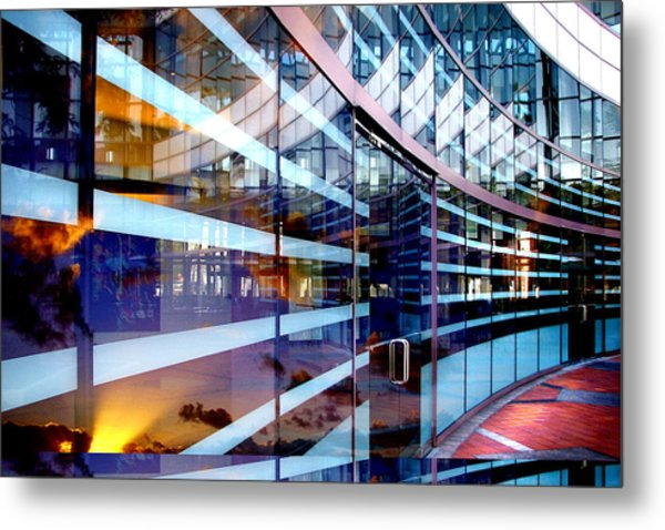 Morning Reflections Metal Print by Jan Cipolla