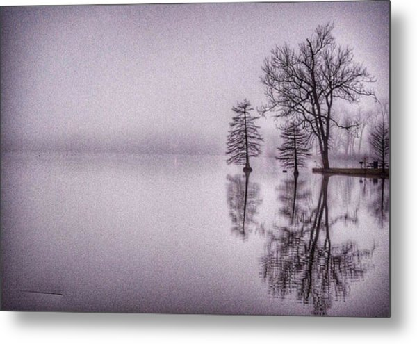 Morning Reflections Metal Print