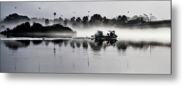 Morning Routine Metal Print