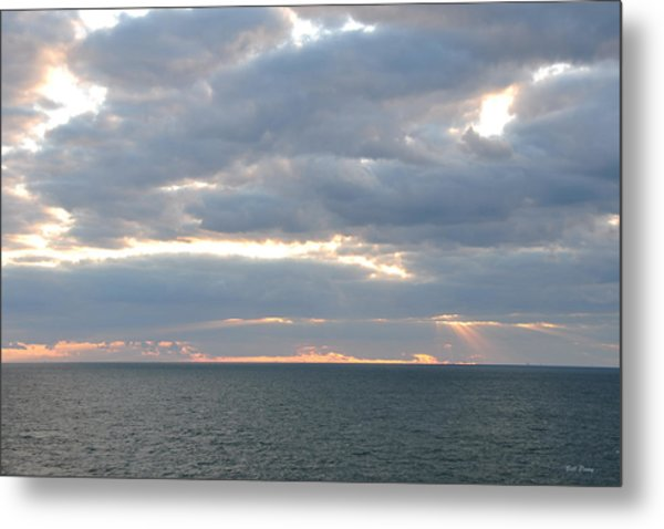 Morning Seascape  Metal Print by Bill Perry