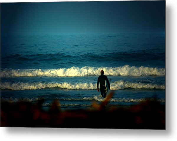 Morning Surf Metal Print