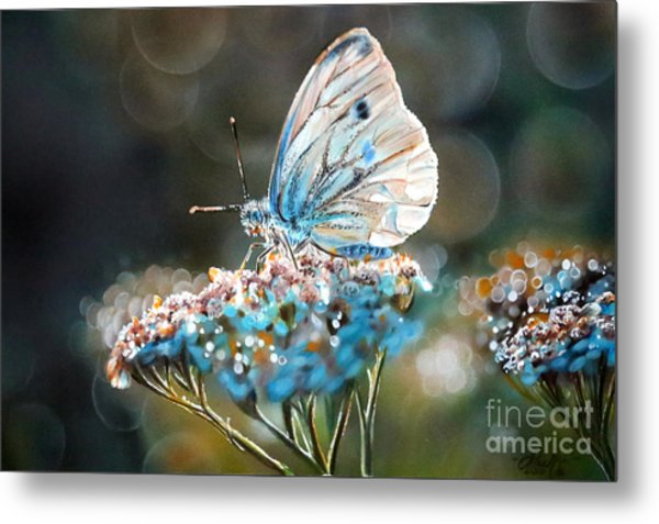 Morning Tea Metal Print