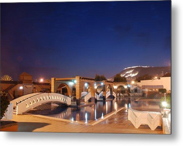 Moroccan Hotel Metal Print by Jaroslaw Grudzinski