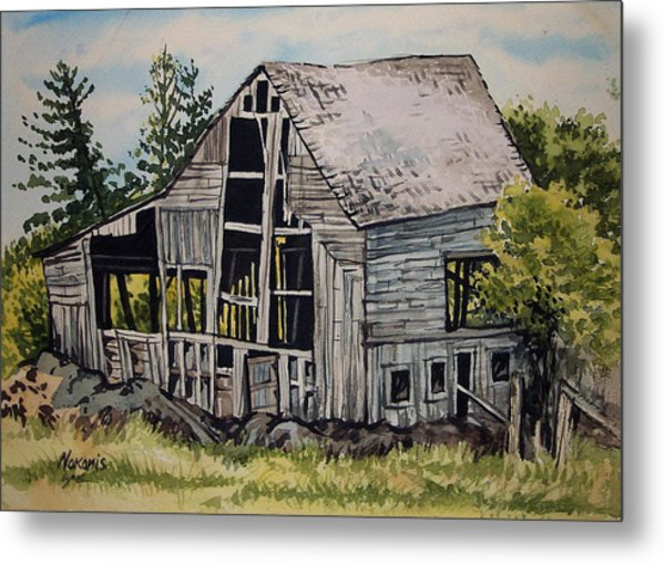 Morristown Barn Ny Metal Print