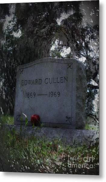 Mortal Edward Cullen Metal Print by Sid Graves
