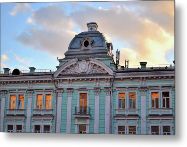 Moscow Monument Metal Print by JAMART Photography