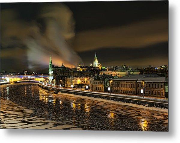 Moskva River Metal Print