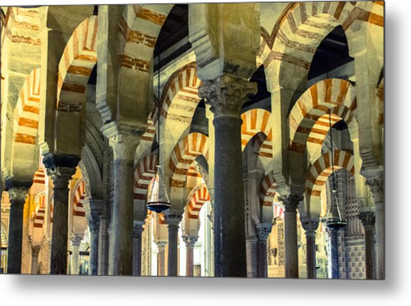 Mosque Cathedral Of Cordoba 2 Metal Print