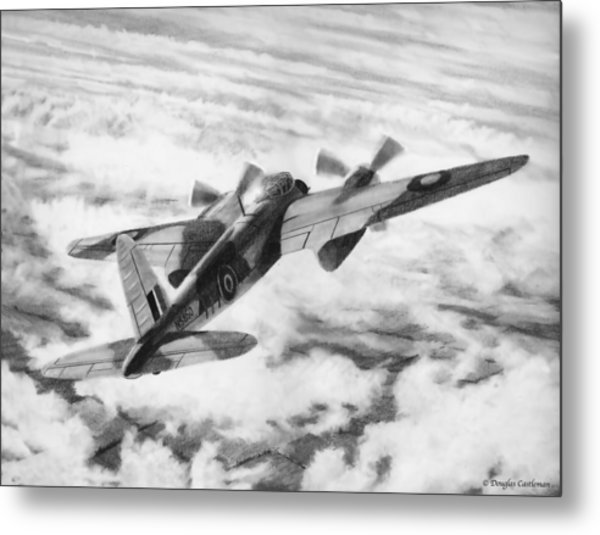 Mosquito Fighter Bomber Metal Print