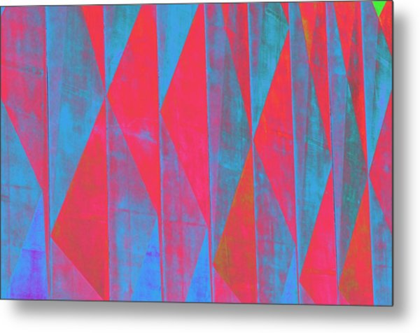 Mostly Blues And Reds Metal Print