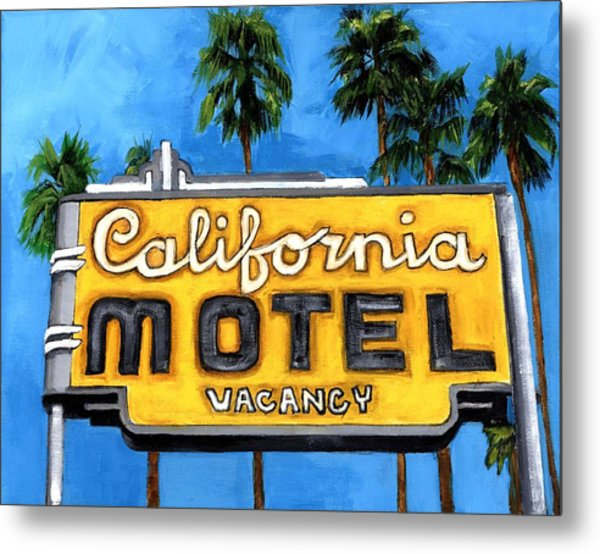 Motel California Metal Print