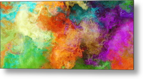 Mother Earth - Abstract Art Metal Print
