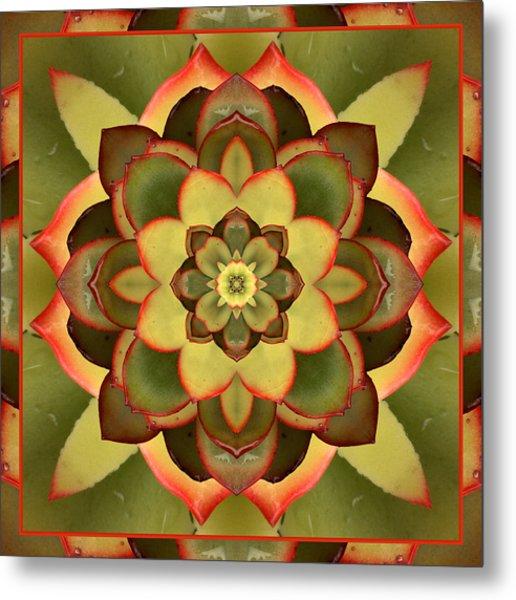 Mother Lotus Metal Print