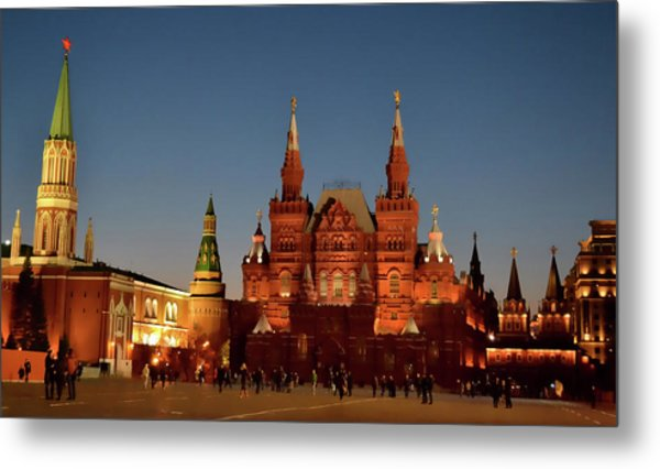 Mother Moscow Metal Print by JAMART Photography