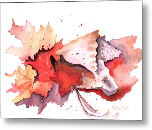 Mother Nature's Pallette Metal Print