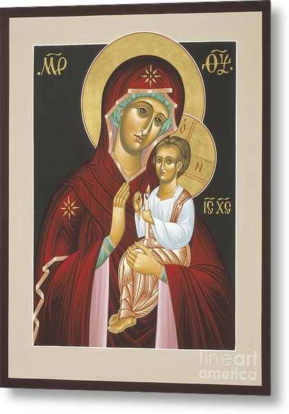 Mother Of God Light In All Darkness 016 Metal Print