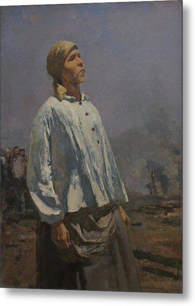 Mother Of Partisan Metal Print by Sergey Gerasimov