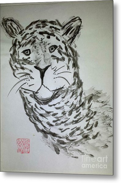 Mother Sister Jaguar Metal Print