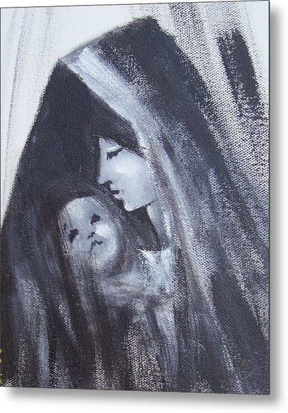 Motherly Love Metal Print by Martha Mullins