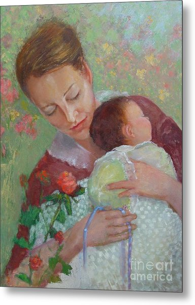Mother's Day    Copyrighted Metal Print by Kathleen Hoekstra