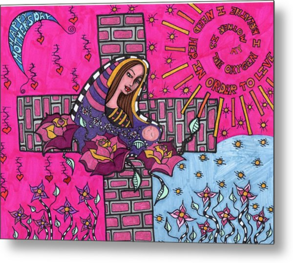 Mother's Day Metal Print by Agatha Green