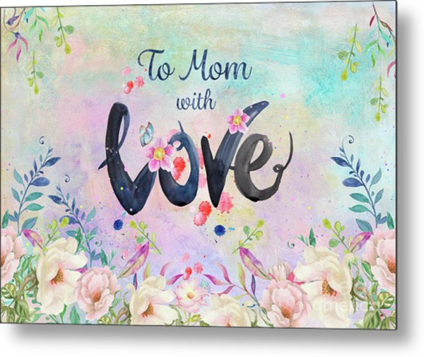 Mother's Day Love Metal Print