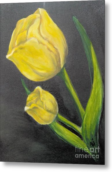 Metal Print featuring the painting Mother's Day by Saundra Johnson