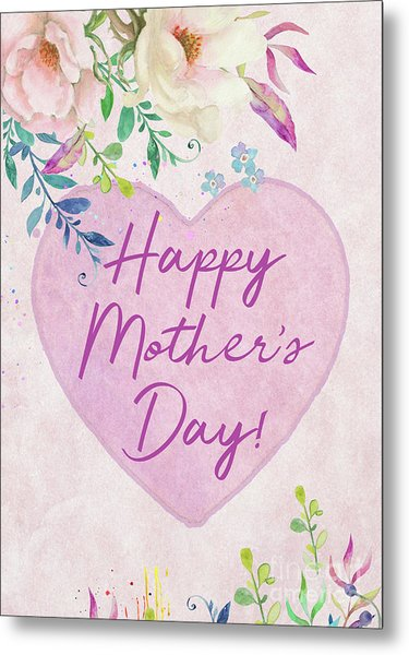 Mother's Day Wishes Metal Print